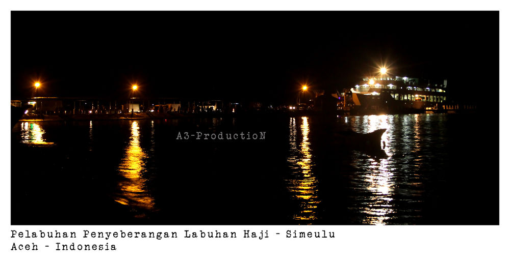 port of Labuhan Haji Aceh - Indonesia by Edo Edwar