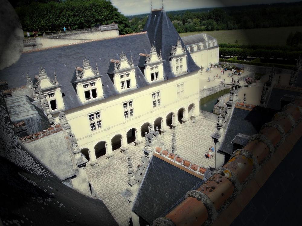 Villandry vue des toits Aout 2013 by MissAnunzia