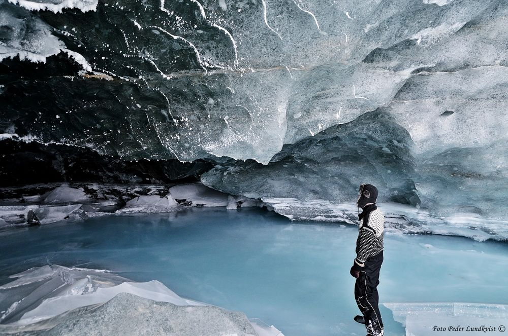 The great ice cave of Salajekna glacier by aplog1