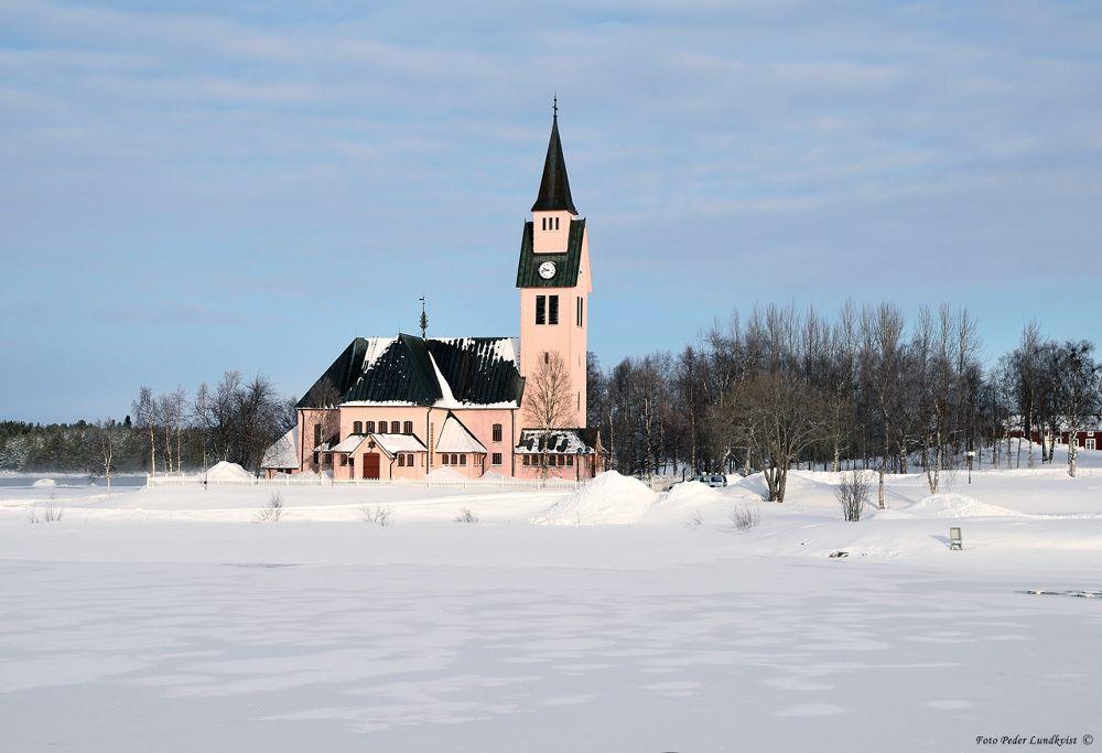 Church in Arjeplog by aplog1