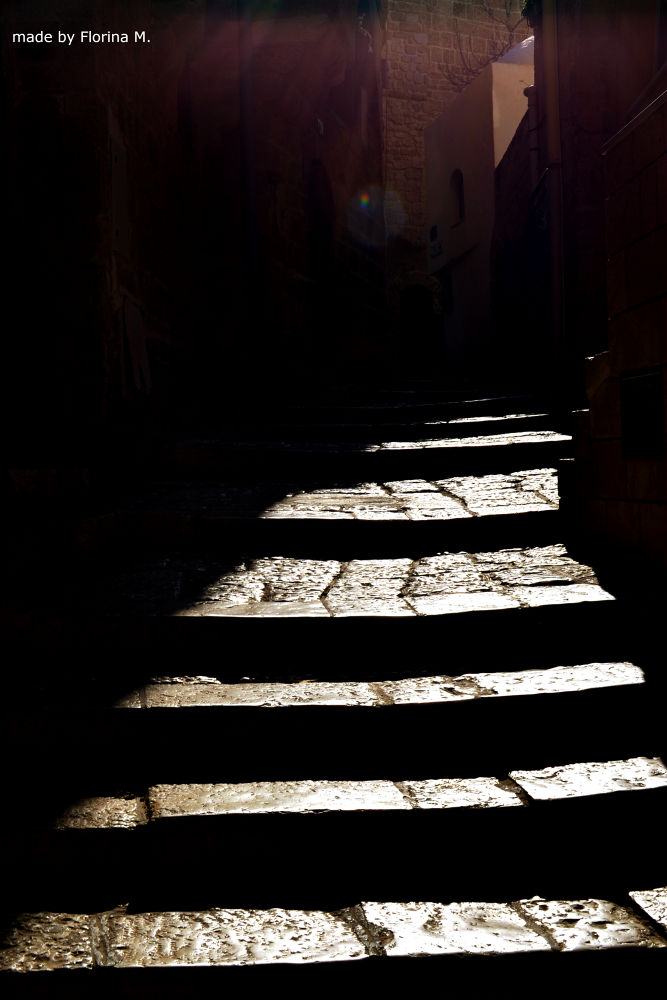 stairway to darkness by Florina Mocanu