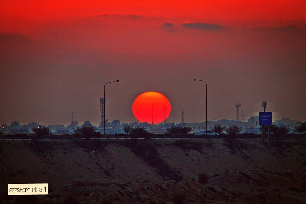 sun raise by azzsham