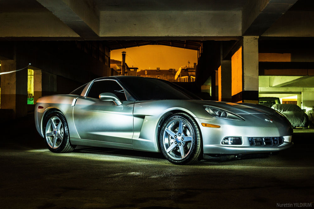 Photo in Sports #corvette #car #race