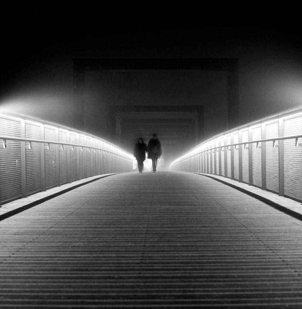Photo in Black and White #marburg #bridge #blackandwhite