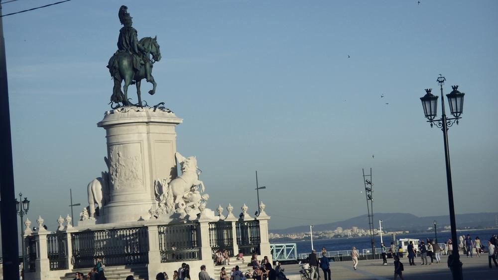Photo in Cityscape #lisboa #lisbon #portugal #terreiro do paço