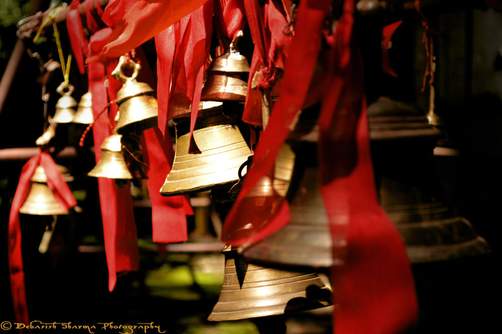 Photo in Travel #temple; india; culture; bells;
