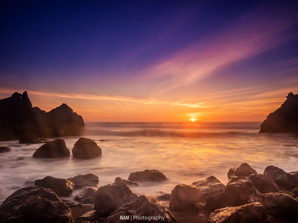 Sunset in Pacifica by nam.ing