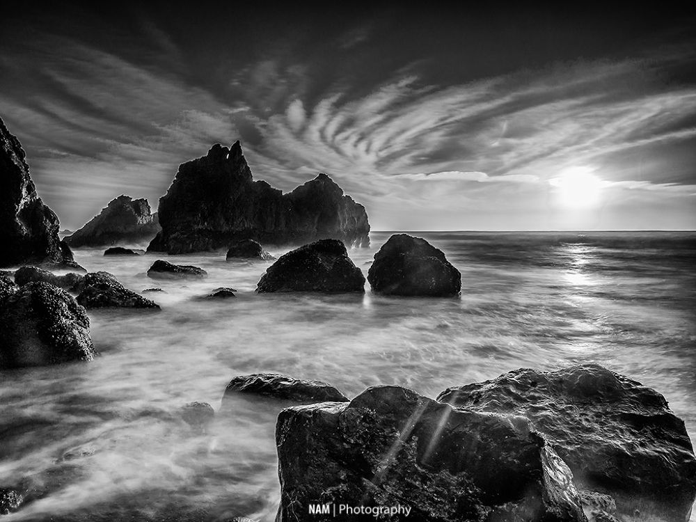 Seascape Sunset by nam.ing