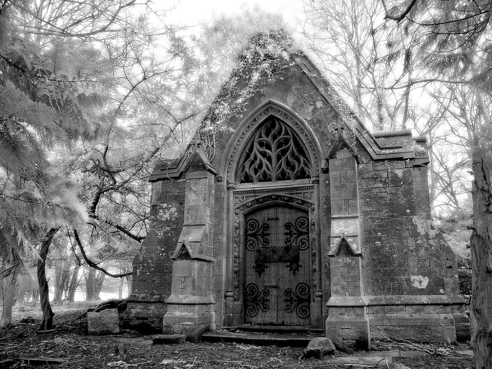 Gothic Crypt by Keith Higham