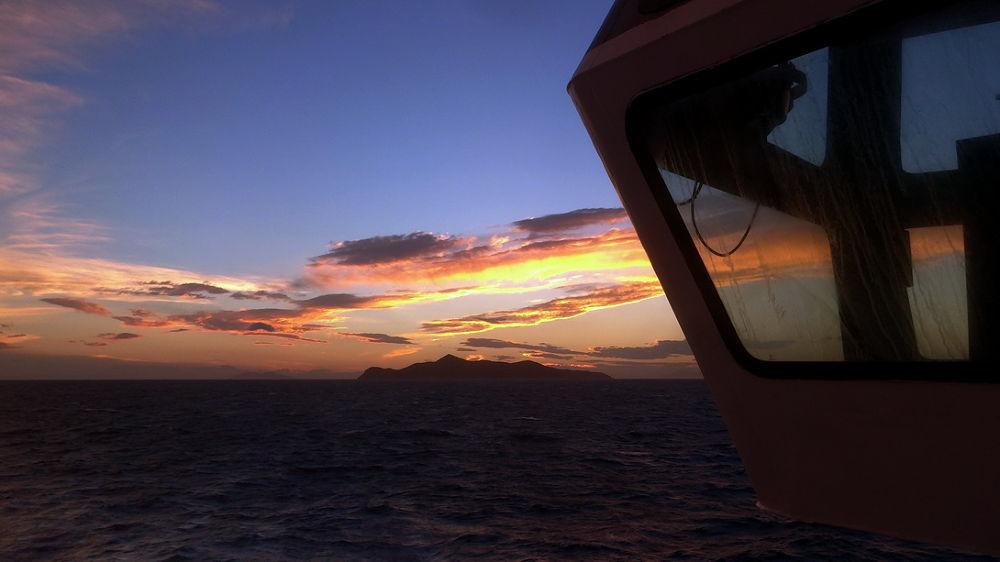 On sailing by  Nikolas Farianos