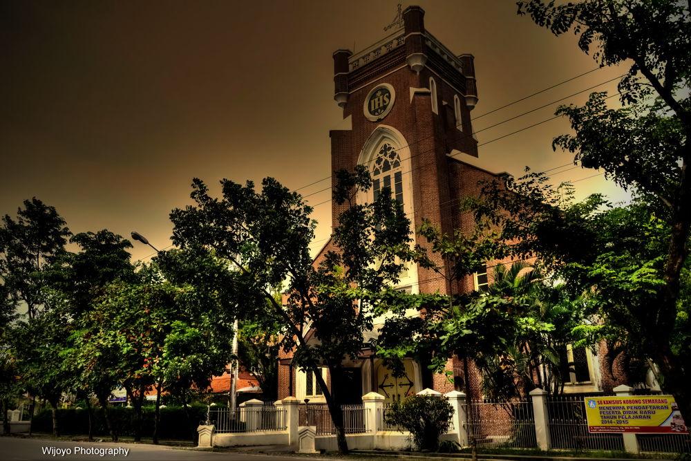 Gereja Katolik Gedangan Semarang by Wijoyo Photography