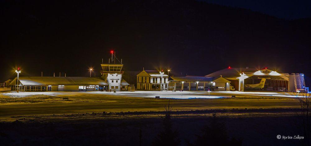 Mosjøen Airport by Morten Eriksen