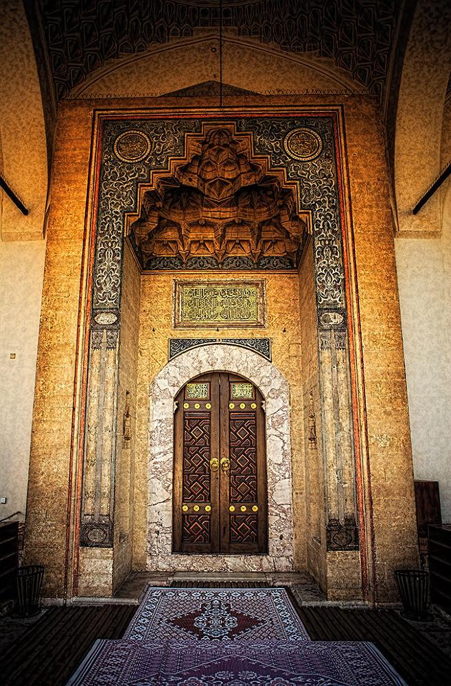 the door of the mosque by Amir Bajrich