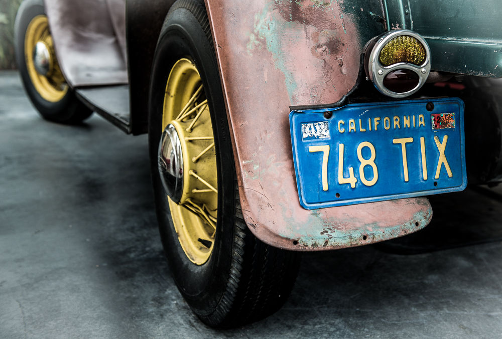 Old California Car by ErikLerbaek