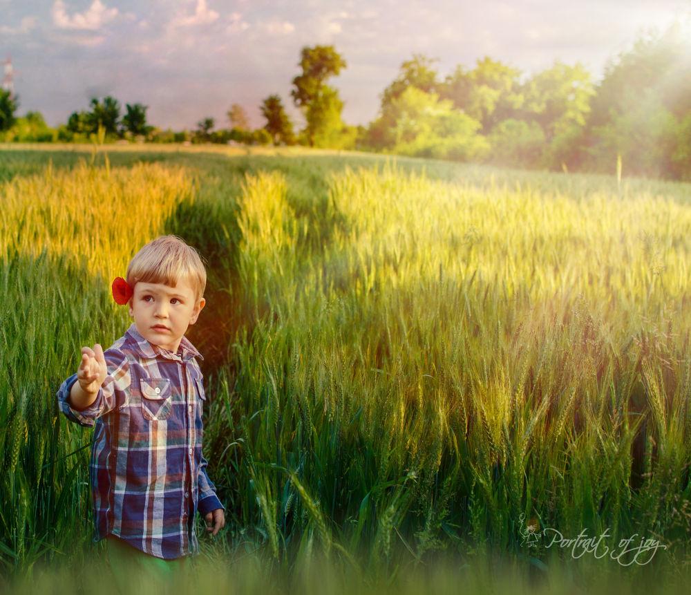 follow me by Portrait of Joy