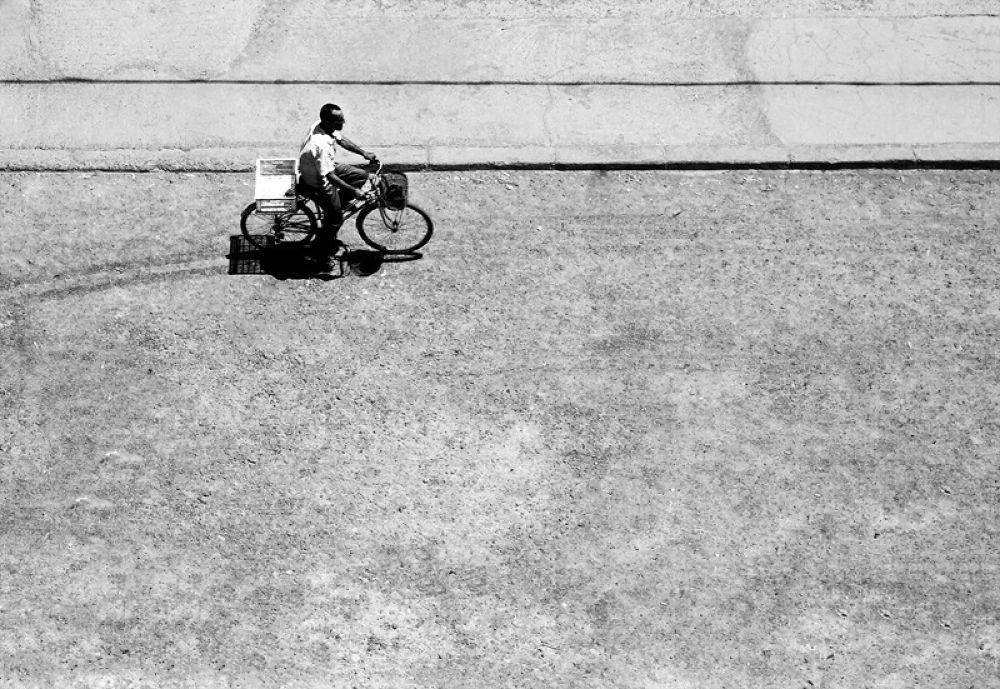 À bicyclette... by Bachir Fourar