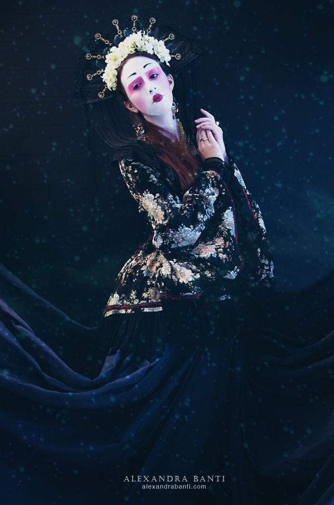 Japanese Goddess by Alexandra Banti