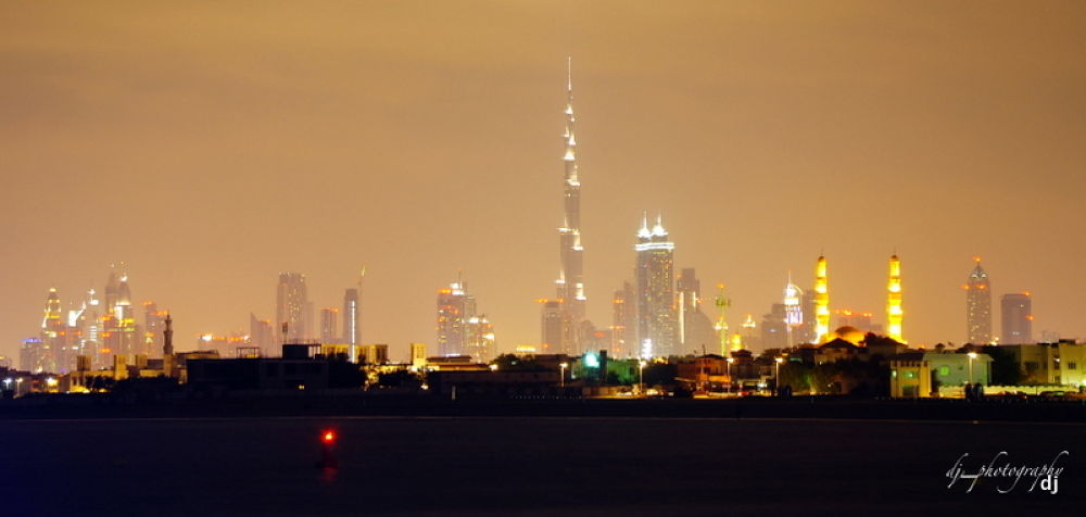 night Dubai by Angelito Tan de Jesus