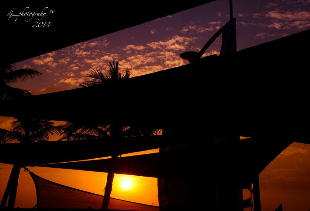 cold sunset by Angelito Tan de Jesus