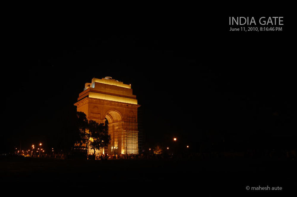 India Gate - 12.jpg by maheshaute