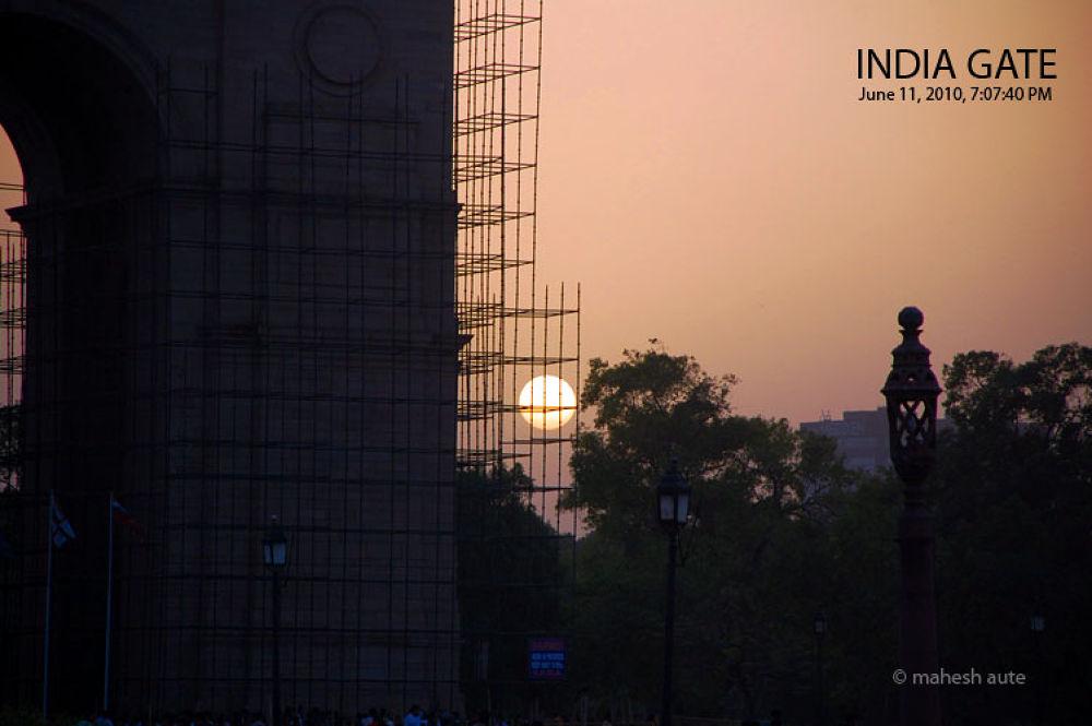 India Gate - 3.jpg by maheshaute