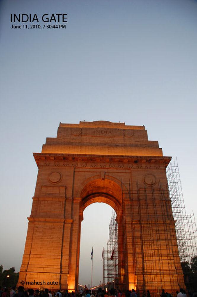 India Gate - 5.jpg by maheshaute