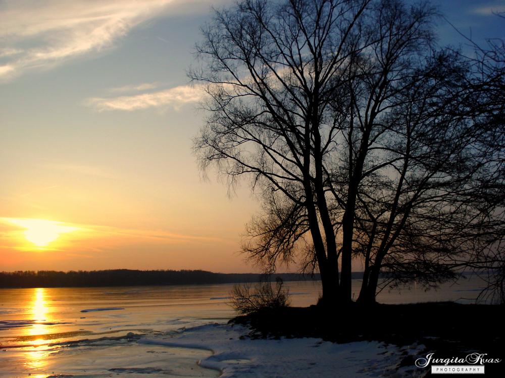sunset by Jurgita Kvaseliene
