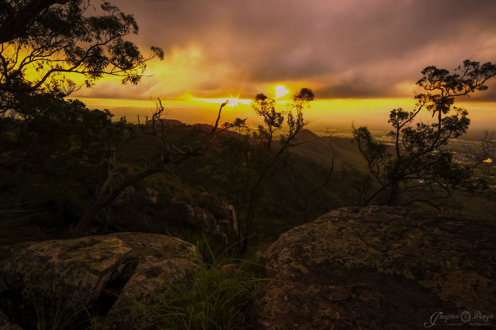 Summit Sunset by inceptivebydesign