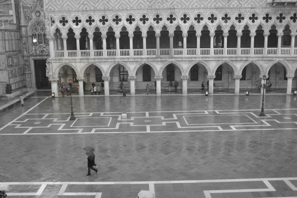 Piazza San Marco by Eugenio Penzo