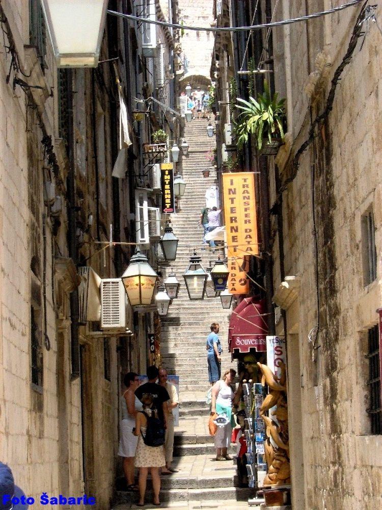 Stairs Dubrovnik by Dragan Šabarić