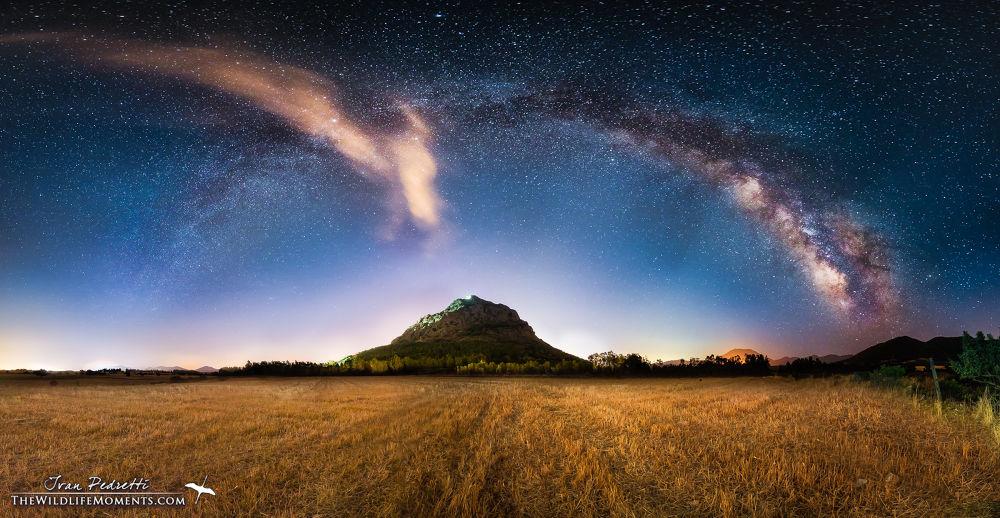 Milky way Castle by Ivan Pedretti