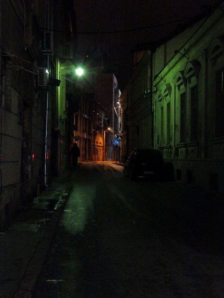 beograd nocu by Vladimir Curcin