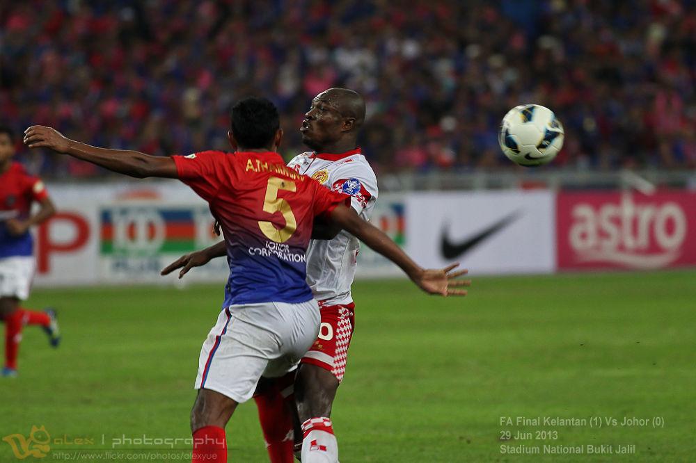FA Final 2013, Kelantan (1) VS Johor (0) by alexyue