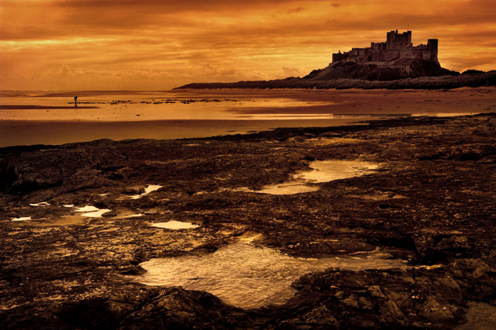 bamburgh castle  by Paul Anthony Wilson