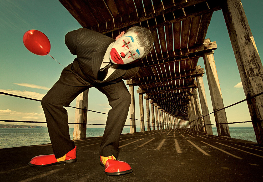 clown by Paul Anthony Wilson