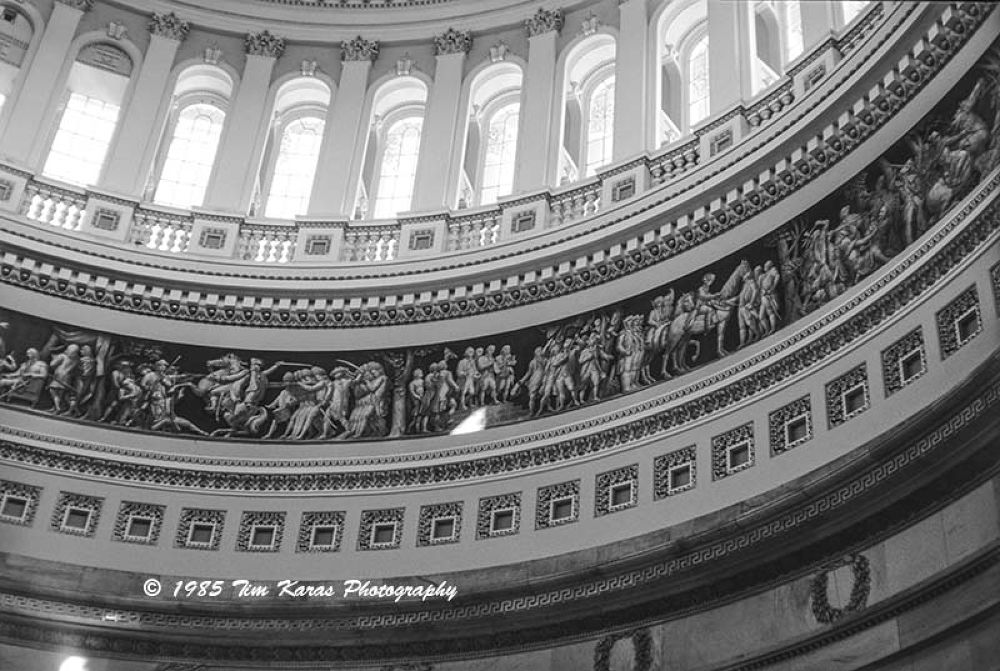 The Rotunda of the US Capitol Building, 1985 by Tim Karas