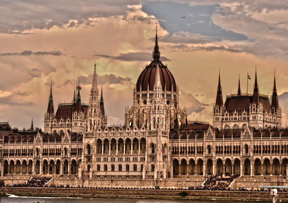 Parliament in Budapest by Lipták Laci