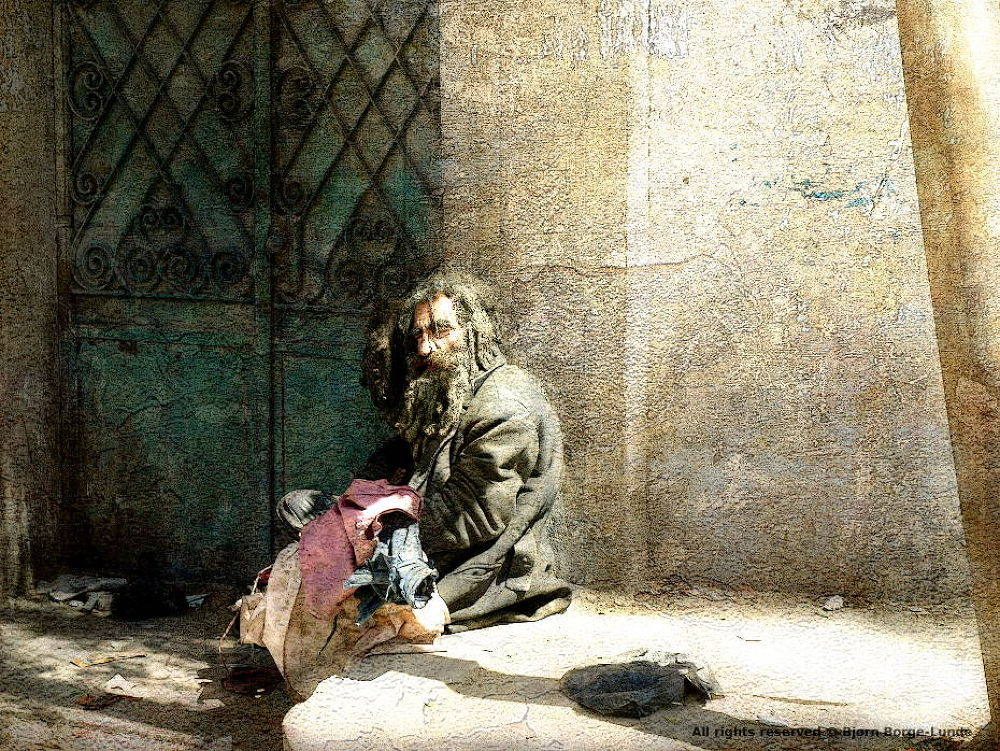 The Beggar by OrdinaryPictures