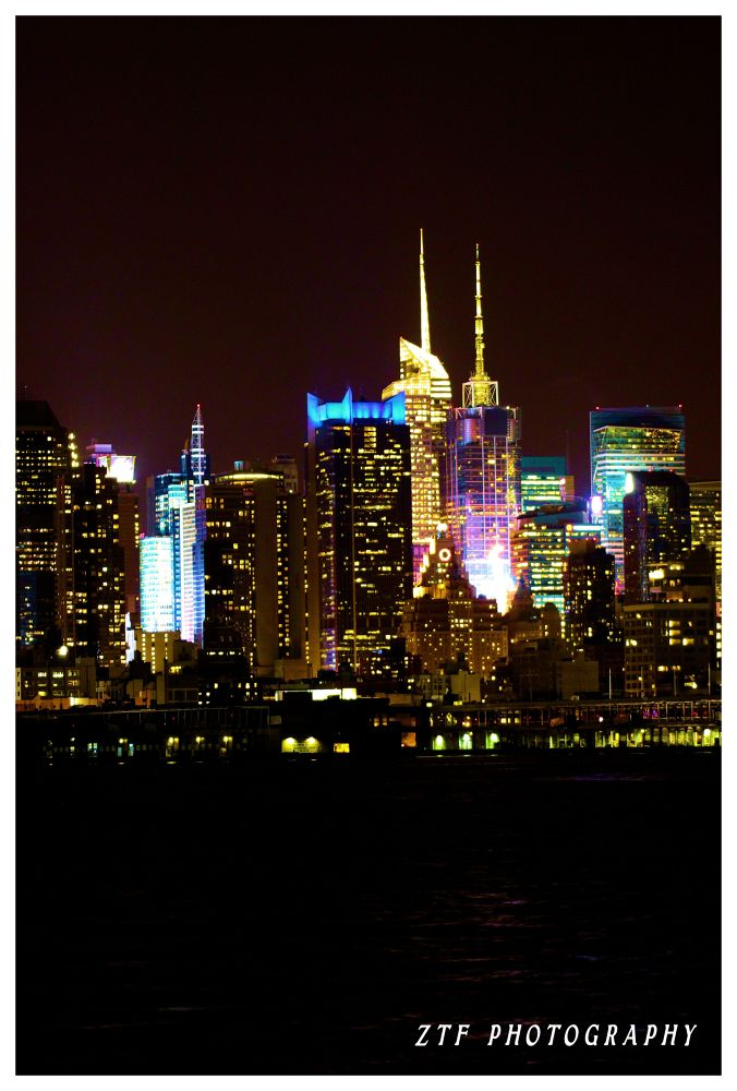 NYC LIGHTS by ZTF PHOTOGRAPHY