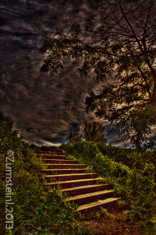 stairway to heaven ?? by Zumstein Jacqui