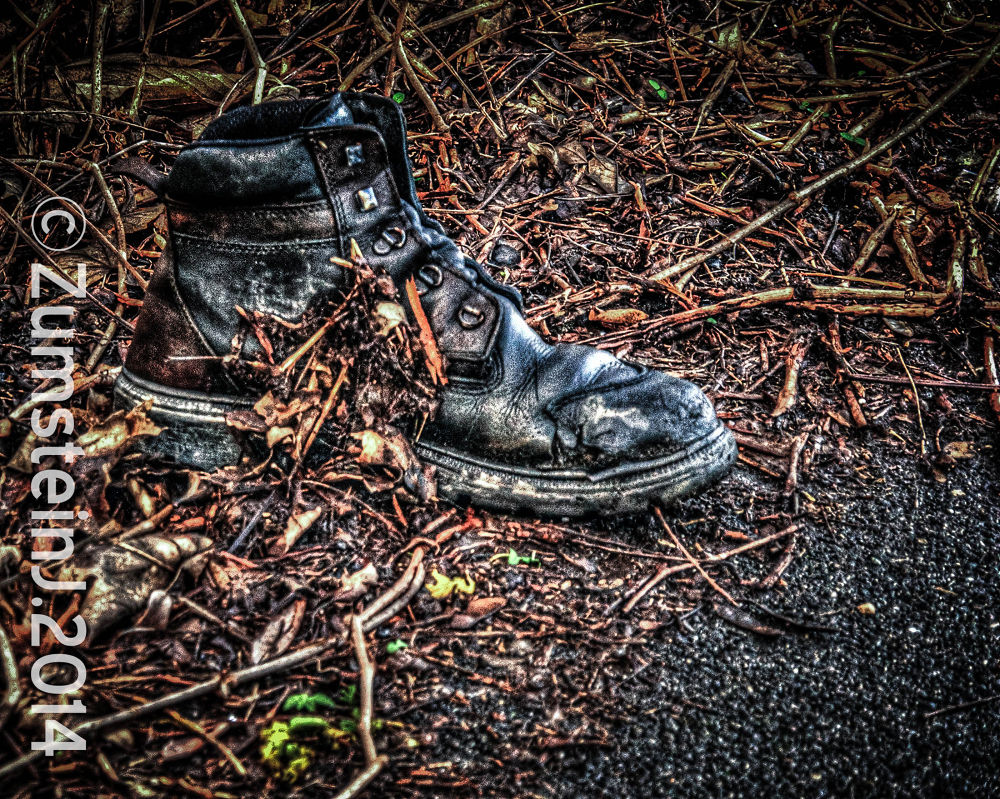 Photo in Fine Art #shoe #hdr #lonely