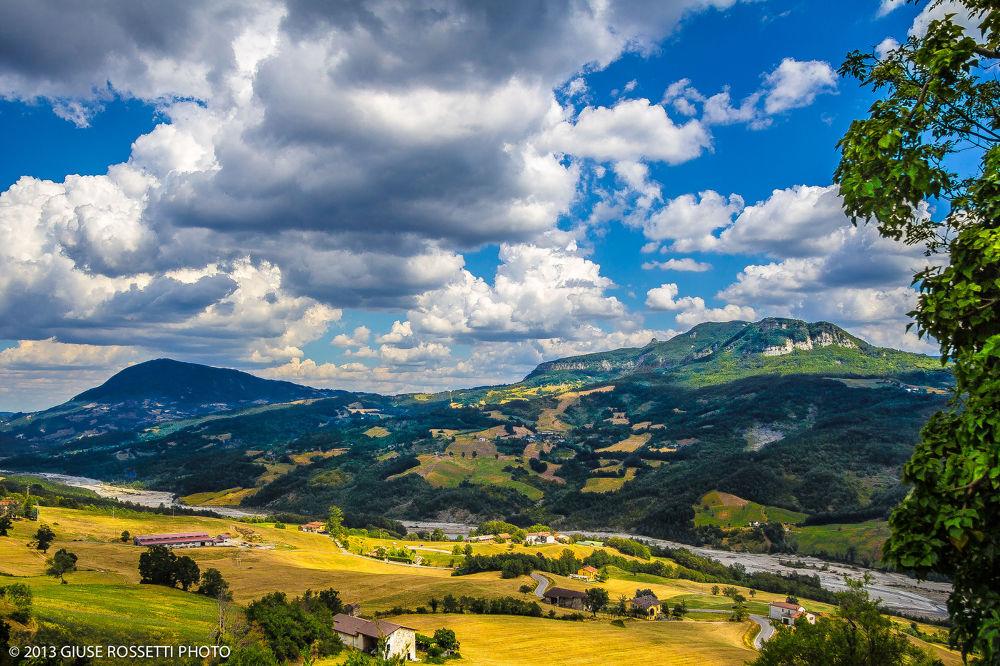 Valle del Ceno by Giuse Rossetti