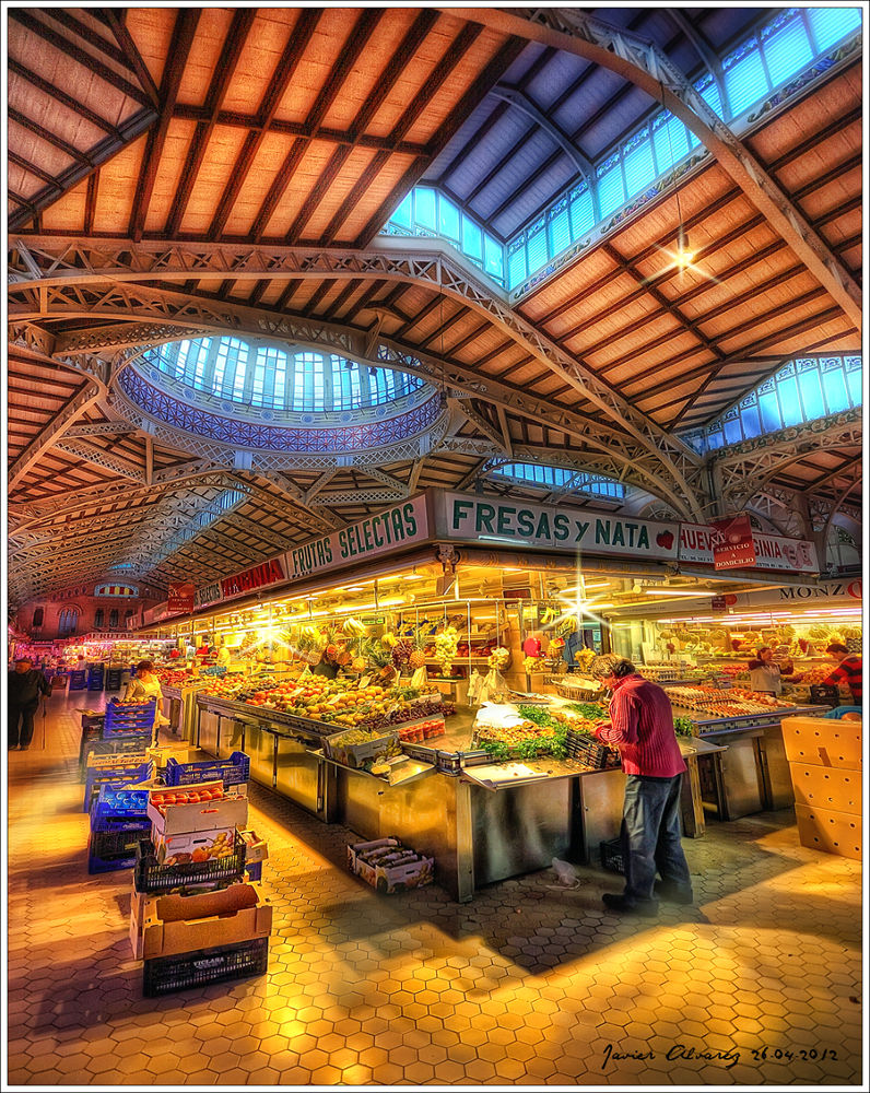 Valencia - Mercado central2 by javirunner