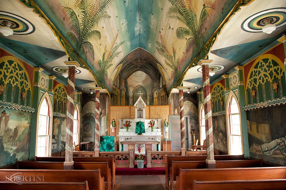 untitled-6270 - The Painted Church in Kealakekua Hawaii. by shortini