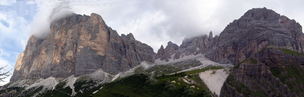 Panorama gruppo tofana by federico