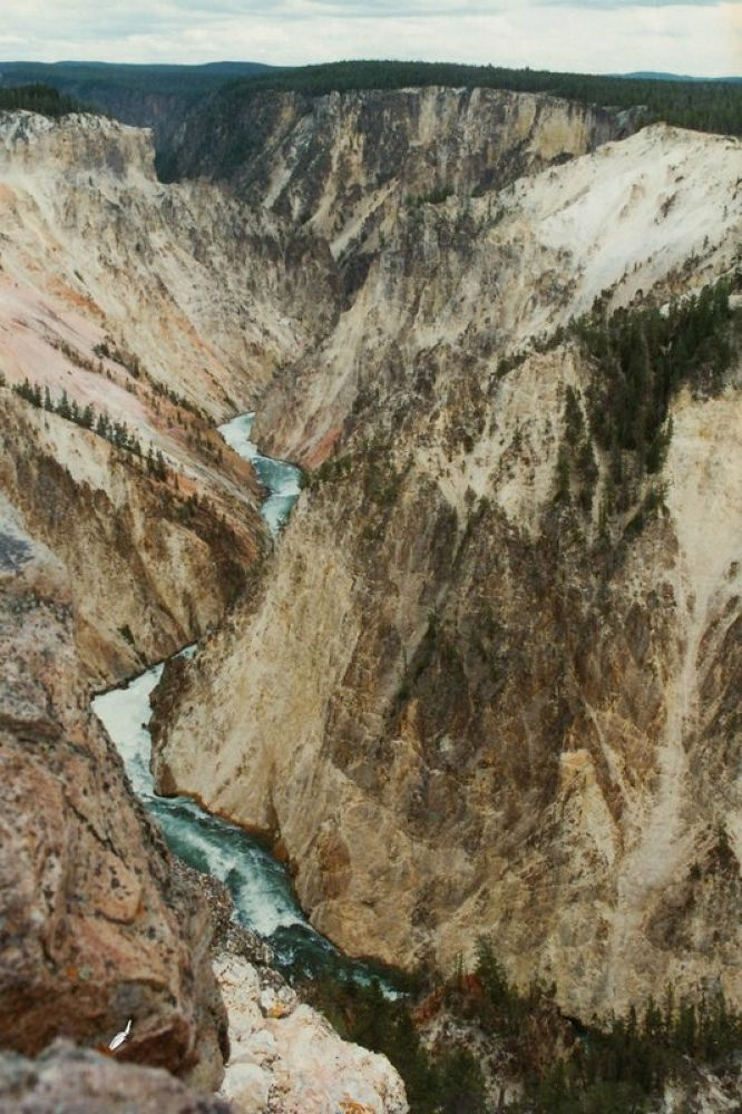 4.USA_Wyoming_Yellowstone Grand Canyon_1996-104 by Arie Boevé