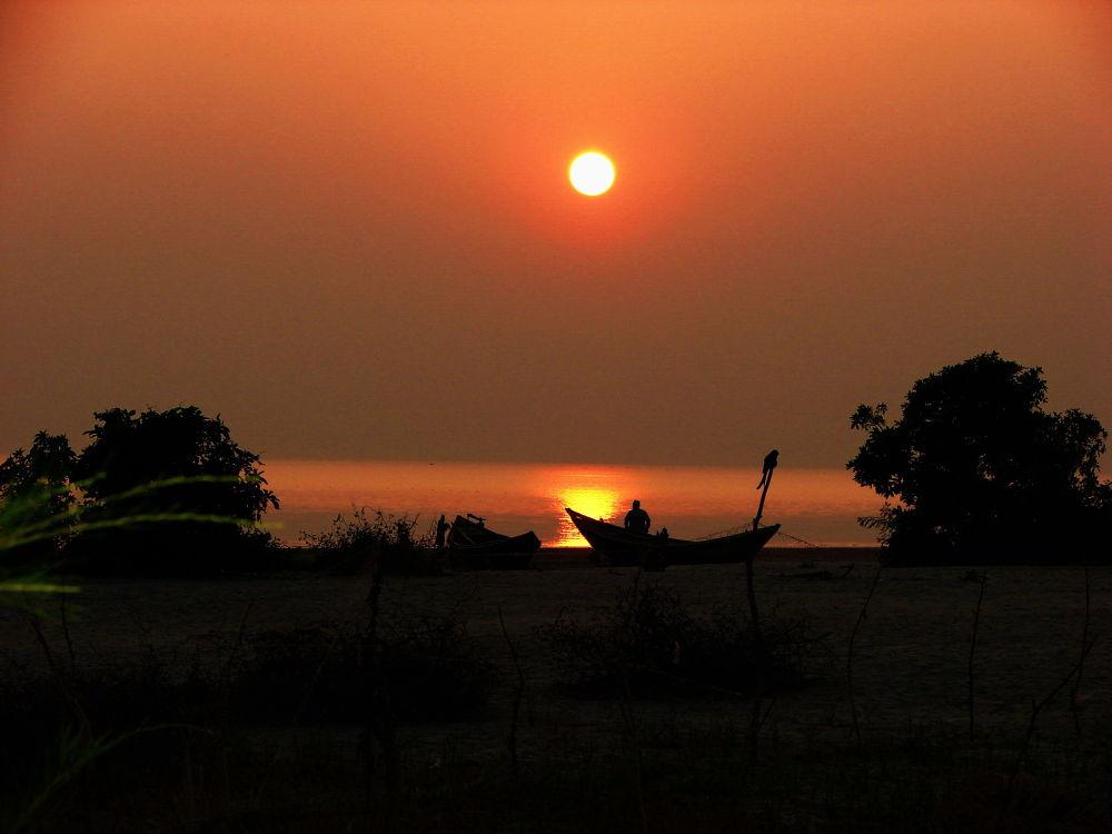 Sunset at Kuakata by tuhin1998