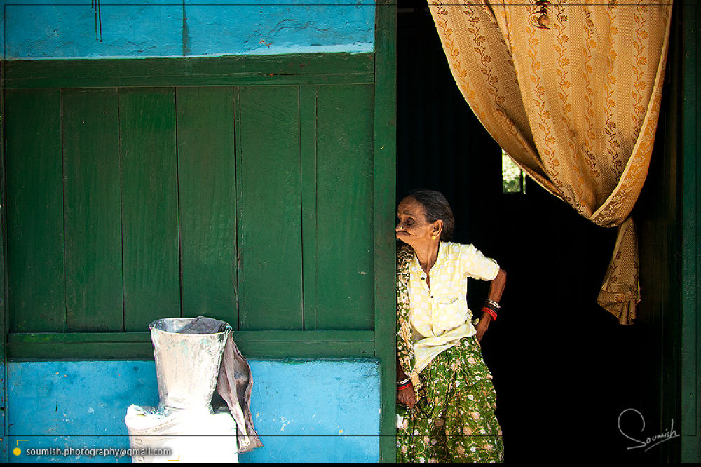 Photo in Street Photography #travel #people #india #door #travel #travel photography #human #portrait #people photography #woman #lady #old lady #candid #street photography #standing