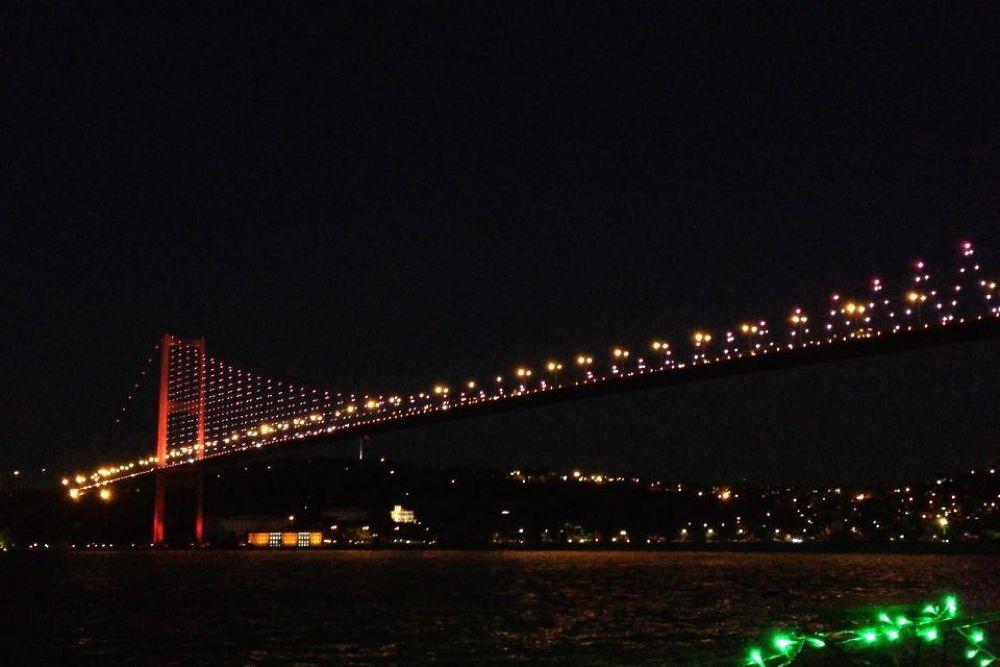 istanbul boğaz köprüsü by Ufuk Bolat