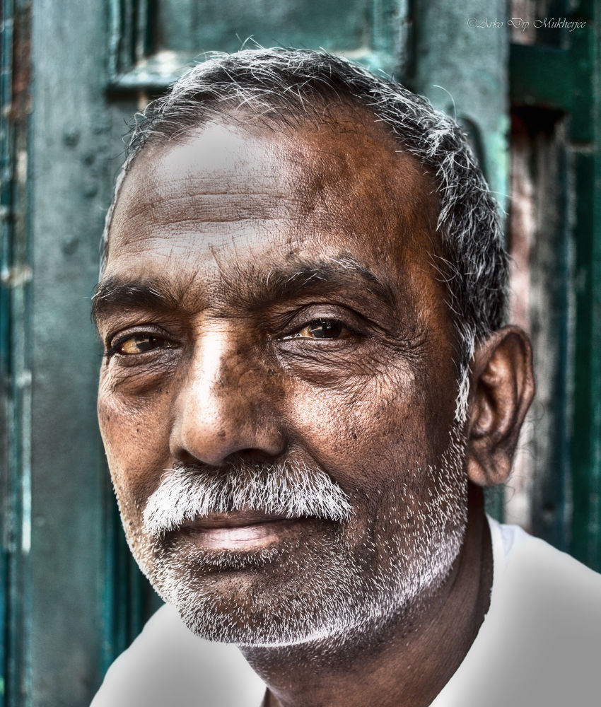 Portrait Guyii  by Arko Dip Mukherjee